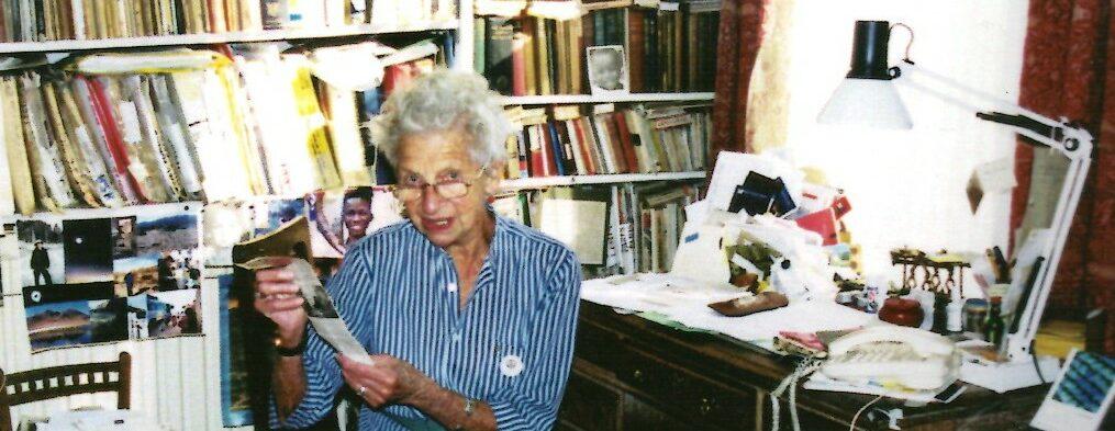 Felicity Ashbee, daughter of C.R. Ashbee
