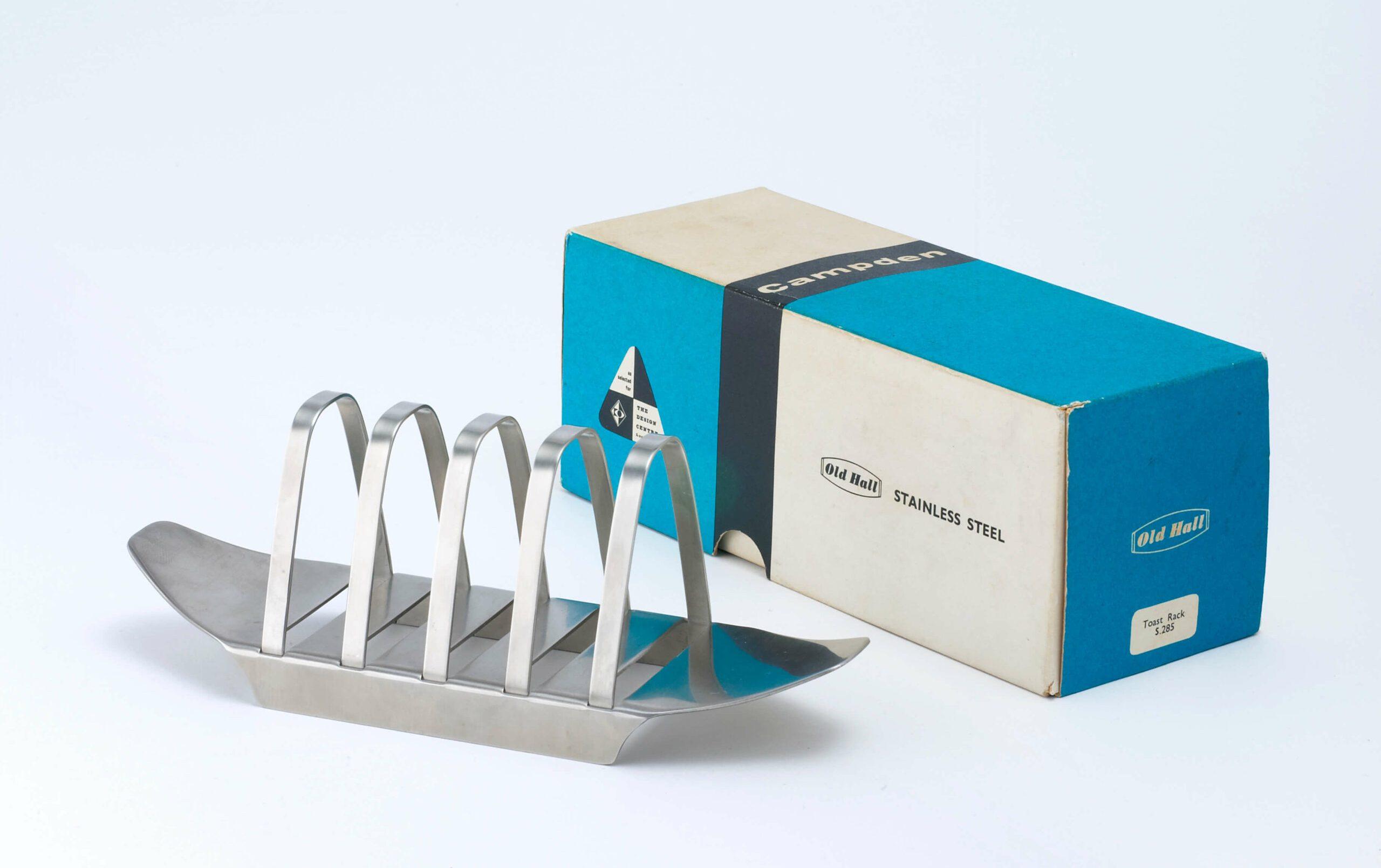 1958, the first Design Council Award - close up of Campden toast rack 2