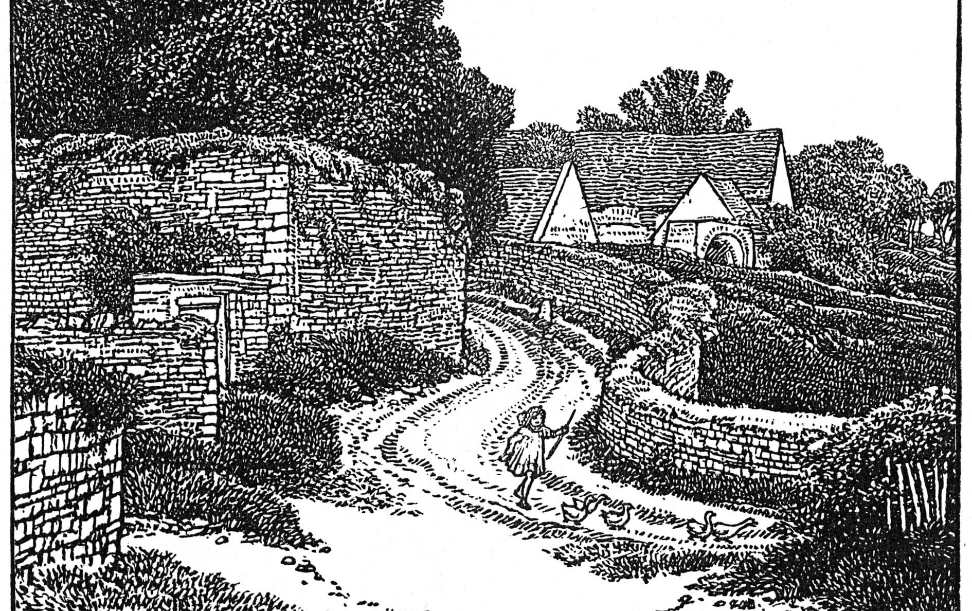 Calf Lane by Griggs