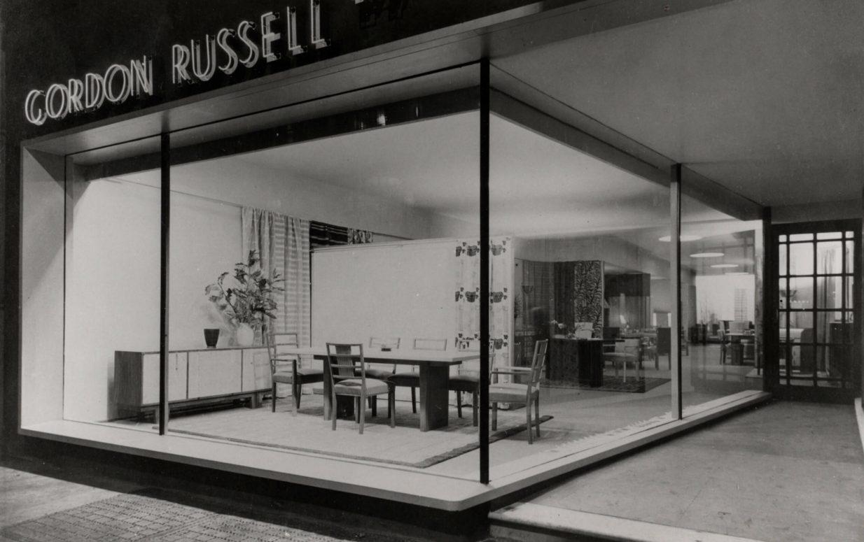 Gordon Russell Ltd 40 Wigmore Street Showroom, London, opened in 1935